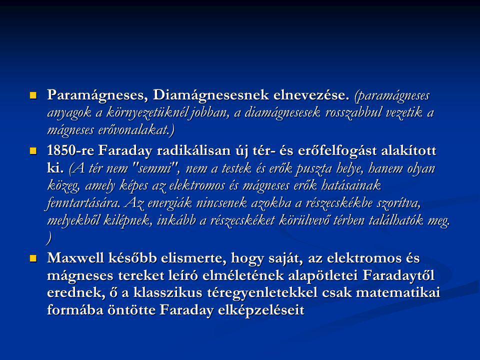 Paramágneses, Diamágnesesnek elnevezése