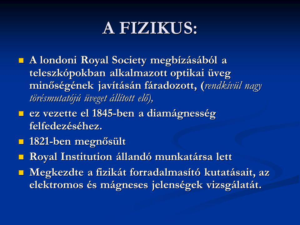A FIZIKUS: