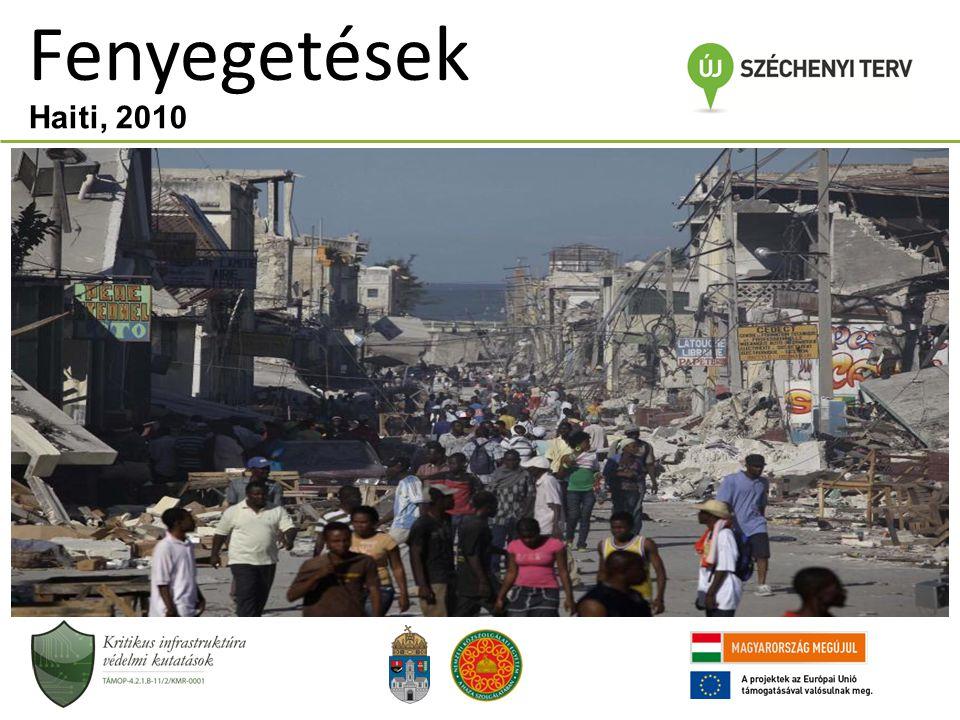 Fenyegetések Haiti, 2010