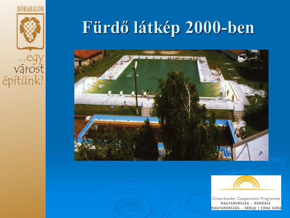 Fürdő látkép 2000-ben