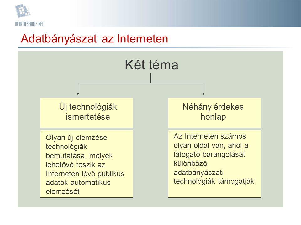 Új technológiák ismertetése