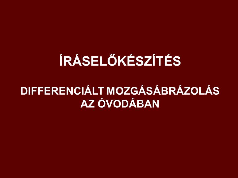 DIFFERENCIÁLT MOZGÁSÁBRÁZOLÁS