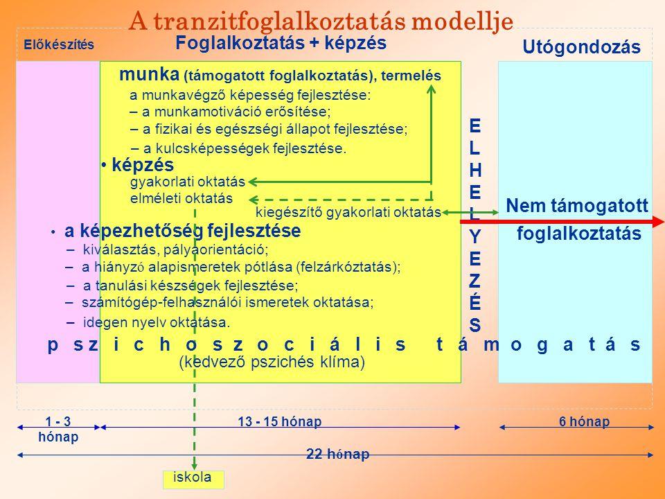 A tranzitfoglalkoztatás modellje