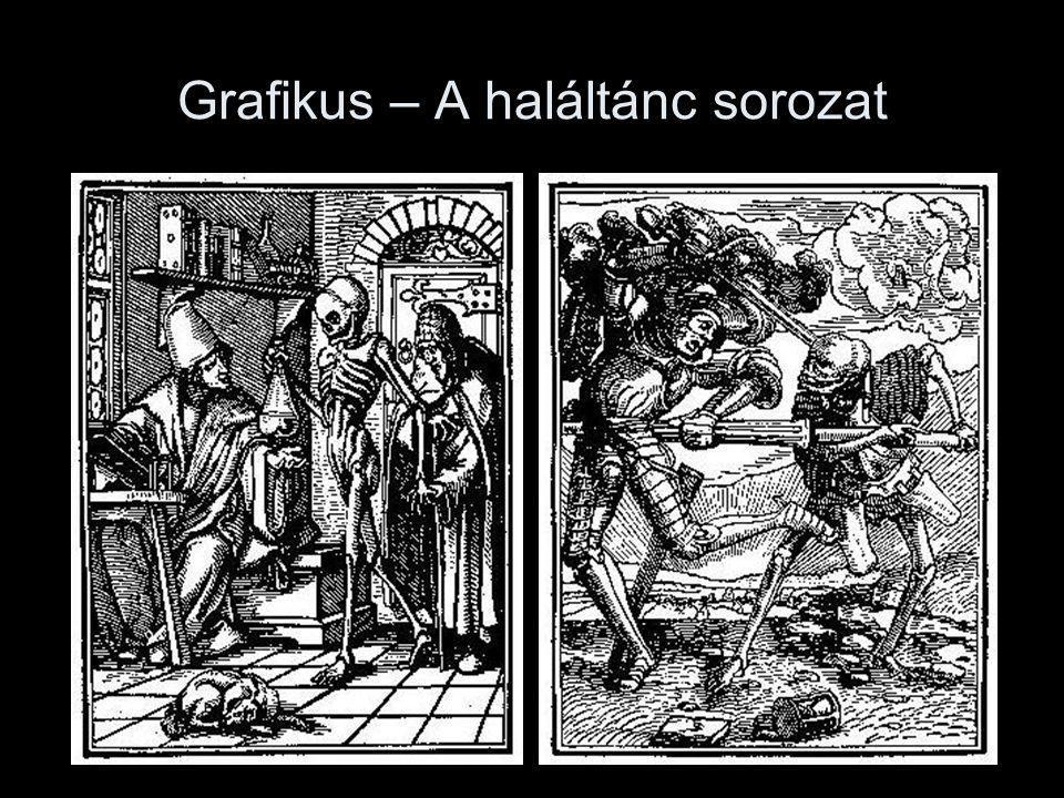 Grafikus – A haláltánc sorozat