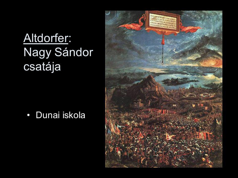 Altdorfer: Nagy Sándor csatája