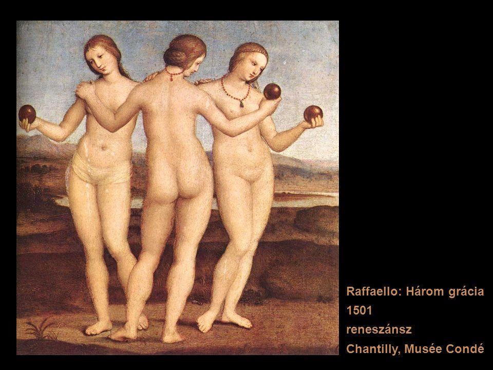 Raffaello: Három grácia