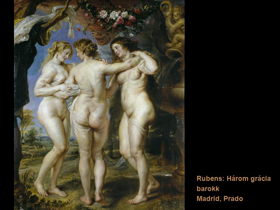 Rubens: Három grácia barokk Madrid, Prado