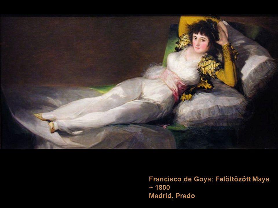 Francisco de Goya: Felöltözött Maya