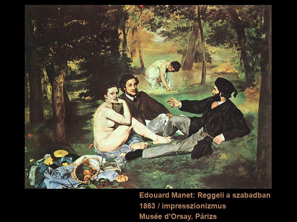 Edouard Manet: Reggeli a szabadban