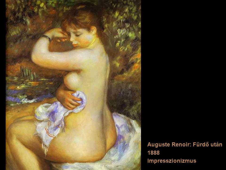 Auguste Renoir: Fürdő után