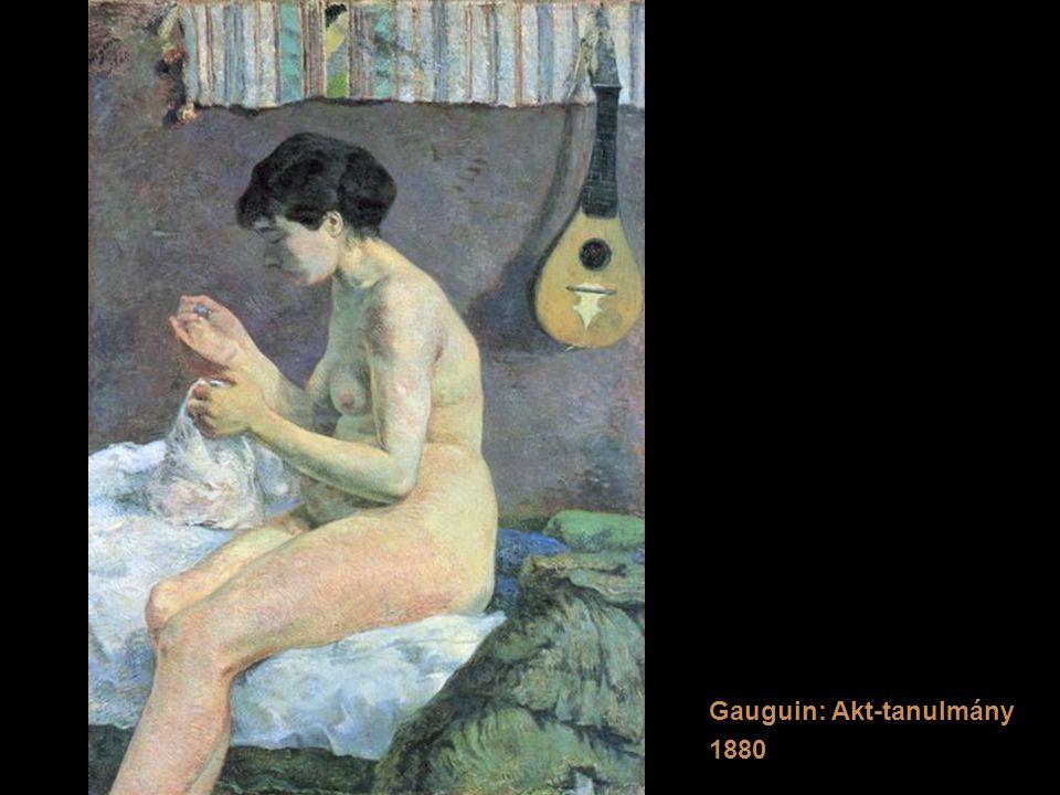 Gauguin: Akt-tanulmány