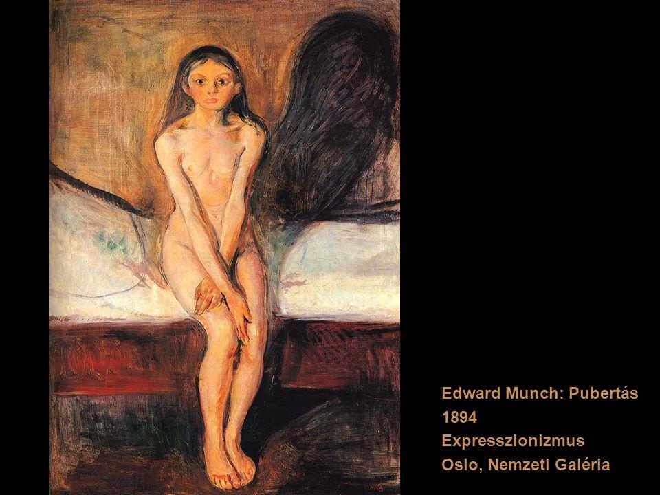 Edward Munch: Pubertás