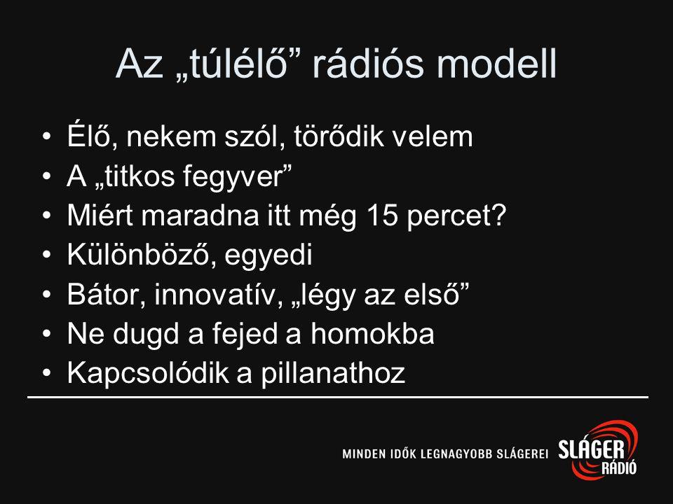 """Az """"túlélő rádiós modell"""