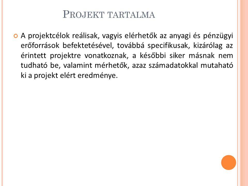 Projekt tartalma