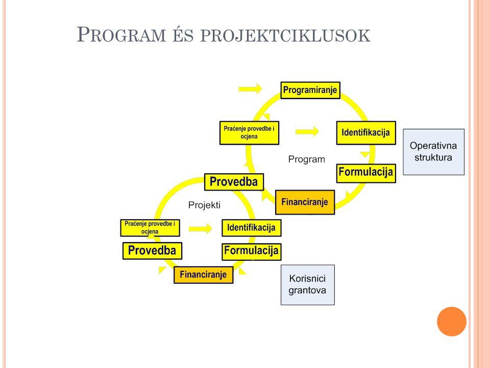 Program és projektciklusok