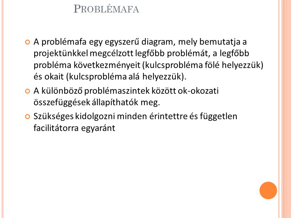 Problémafa