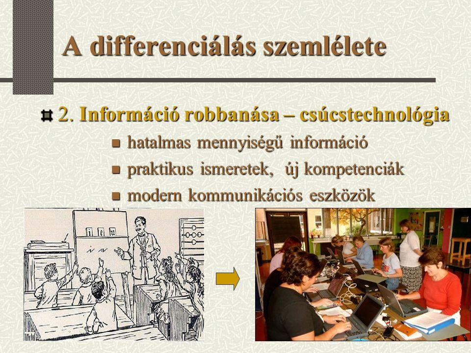 A differenciálás szemlélete