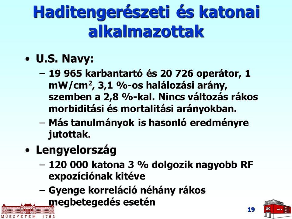 Haditengerészeti és katonai alkalmazottak
