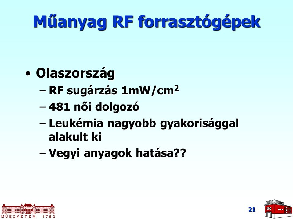 Műanyag RF forrasztógépek