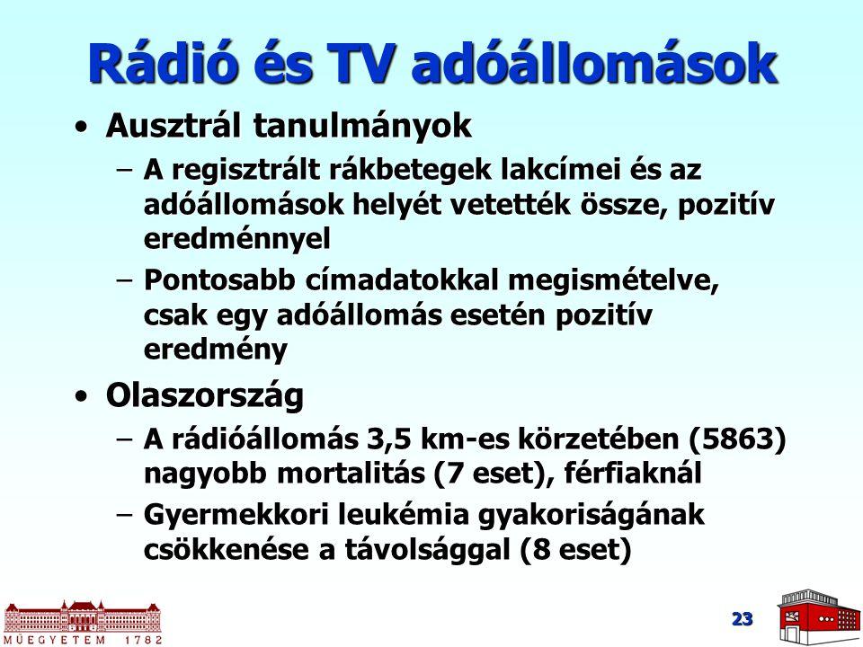 Rádió és TV adóállomások
