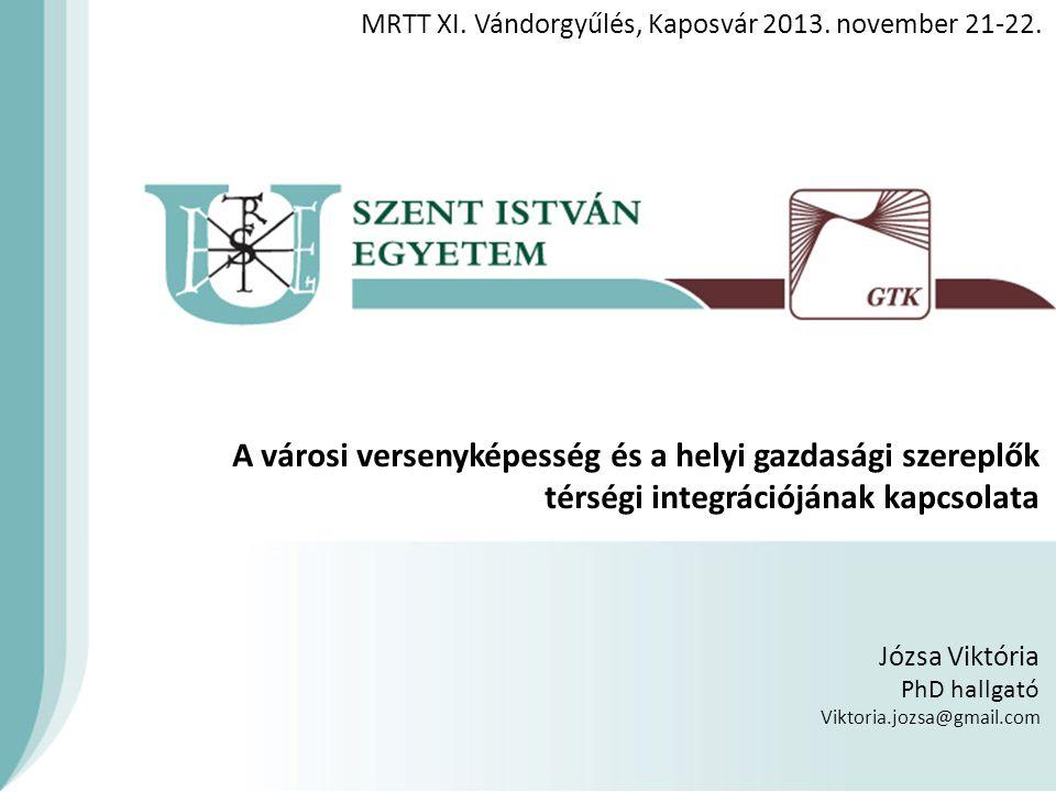 MRTT XI. Vándorgyűlés, Kaposvár 2013. november 21-22.