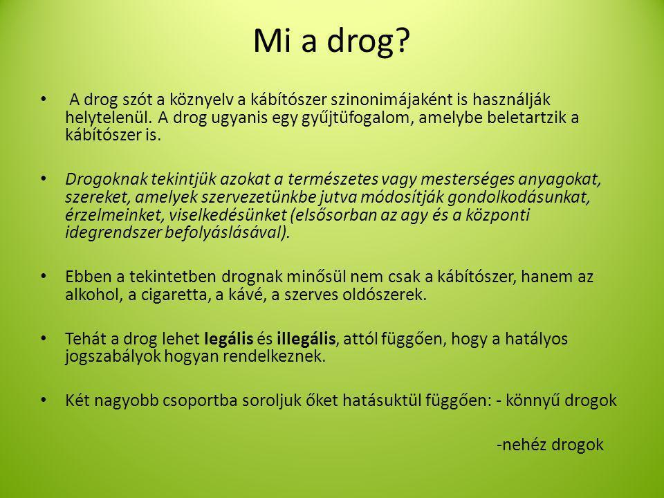 Mi a drog