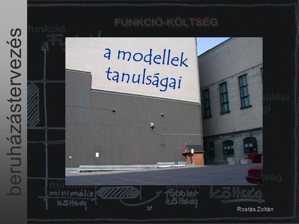 a modellek tanulságai 37