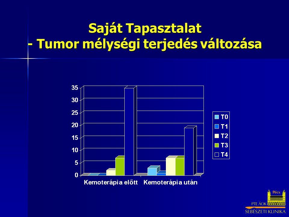 Saját Tapasztalat - Tumor mélységi terjedés változása