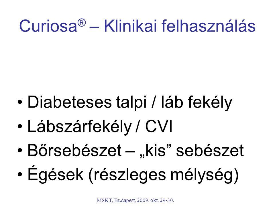 Curiosa® – Klinikai felhasználás