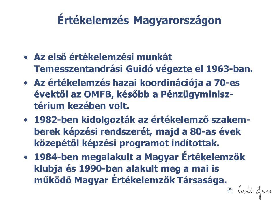 Értékelemzés Magyarországon