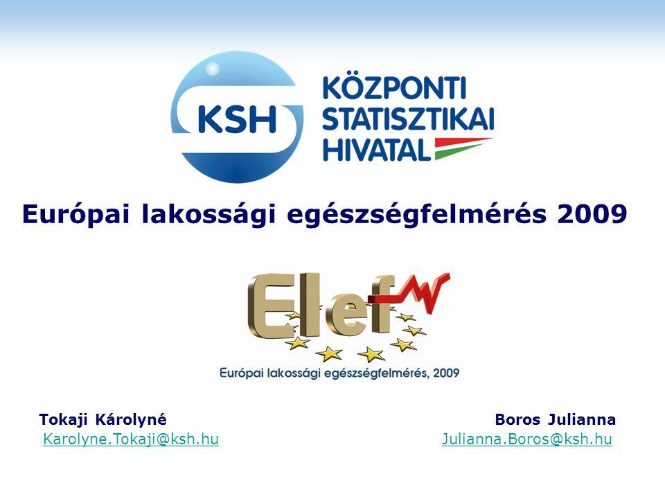 Európai lakossági egészségfelmérés 2009