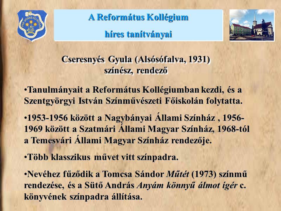 A Református Kollégium