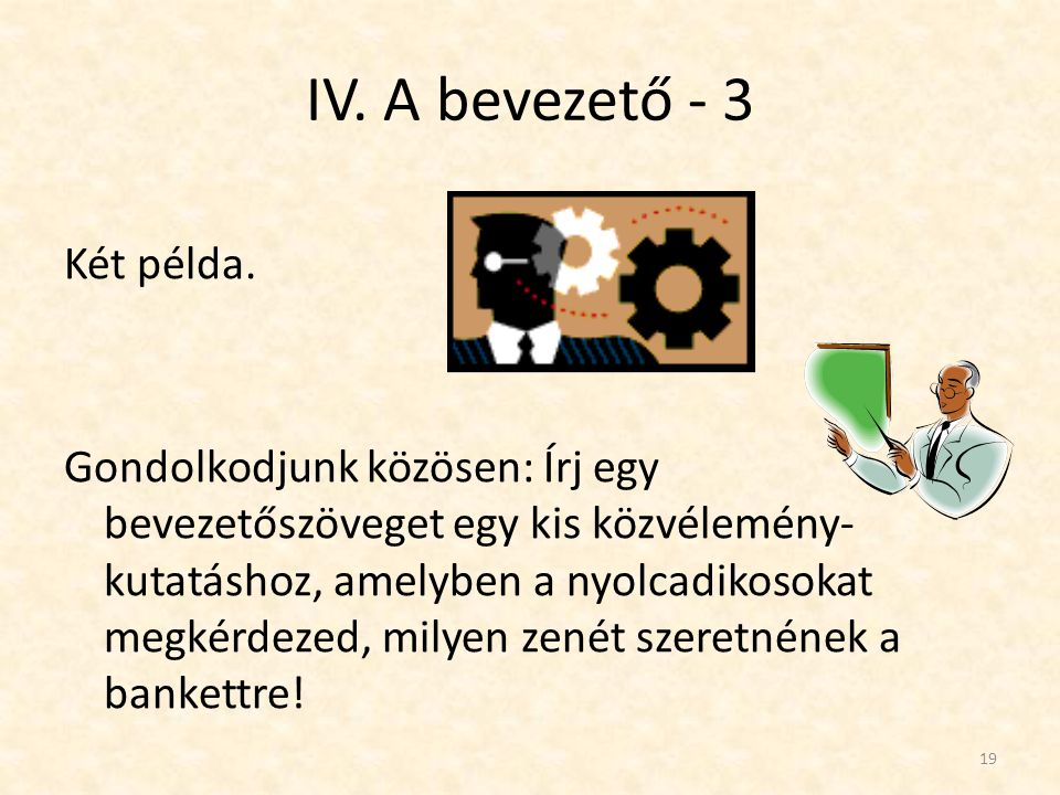 IV. A bevezető - 3