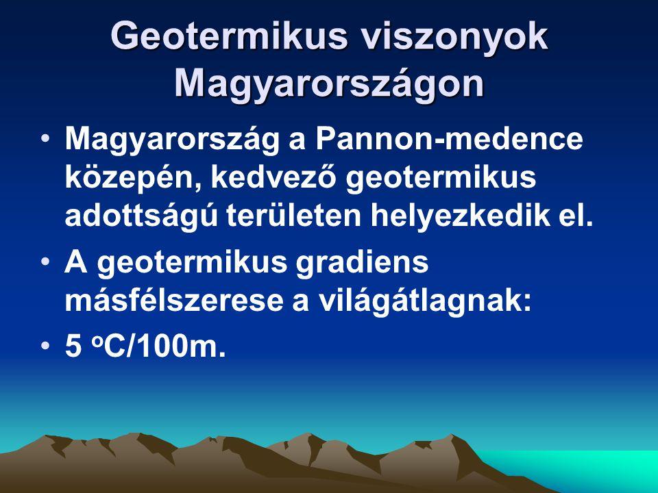Geotermikus viszonyok Magyarországon