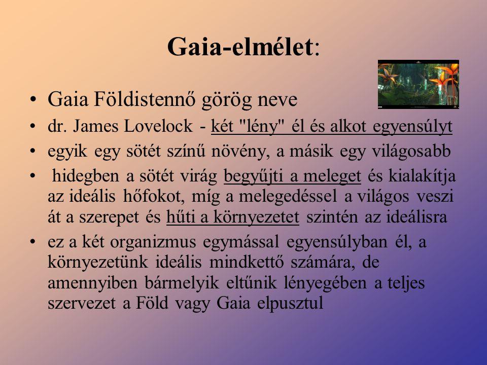 Gaia-elmélet: Gaia Földistennő görög neve