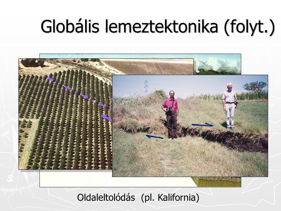 Globális lemeztektonika (folyt.)