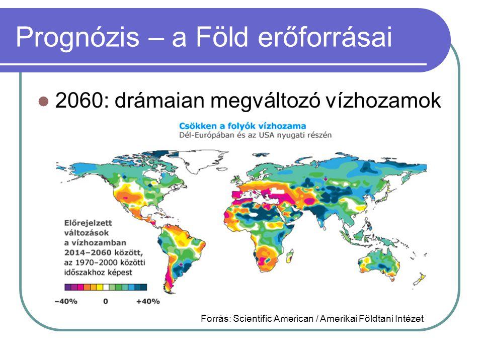 Prognózis – a Föld erőforrásai