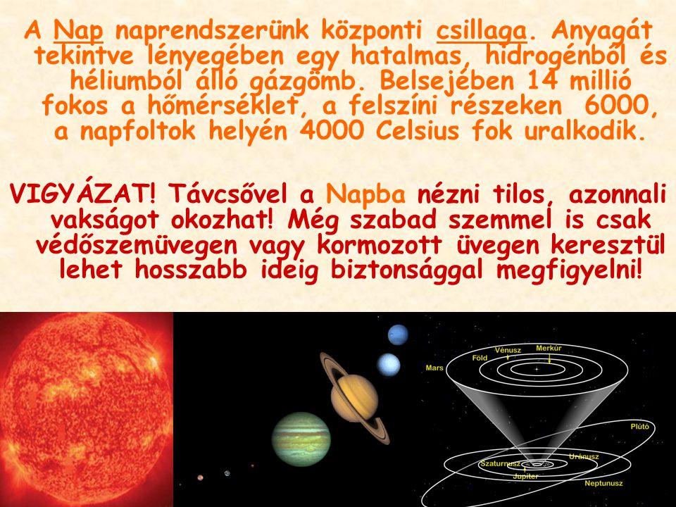 A Nap naprendszerünk központi csillaga