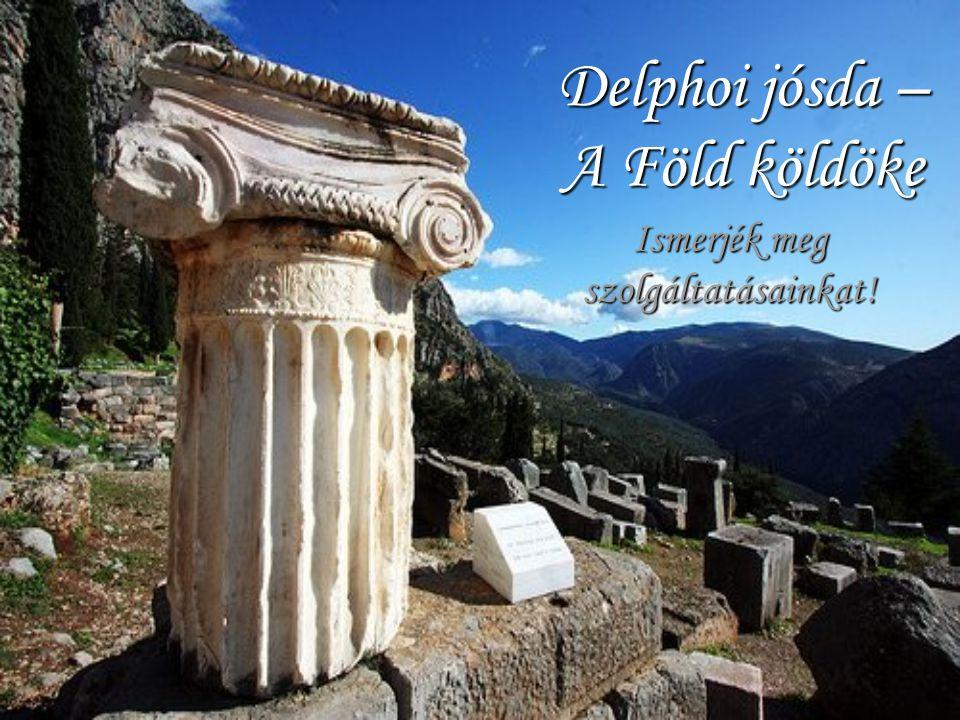 Delphoi jósda – A Föld köldöke