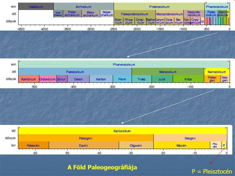 A Föld Paleogeográfiája