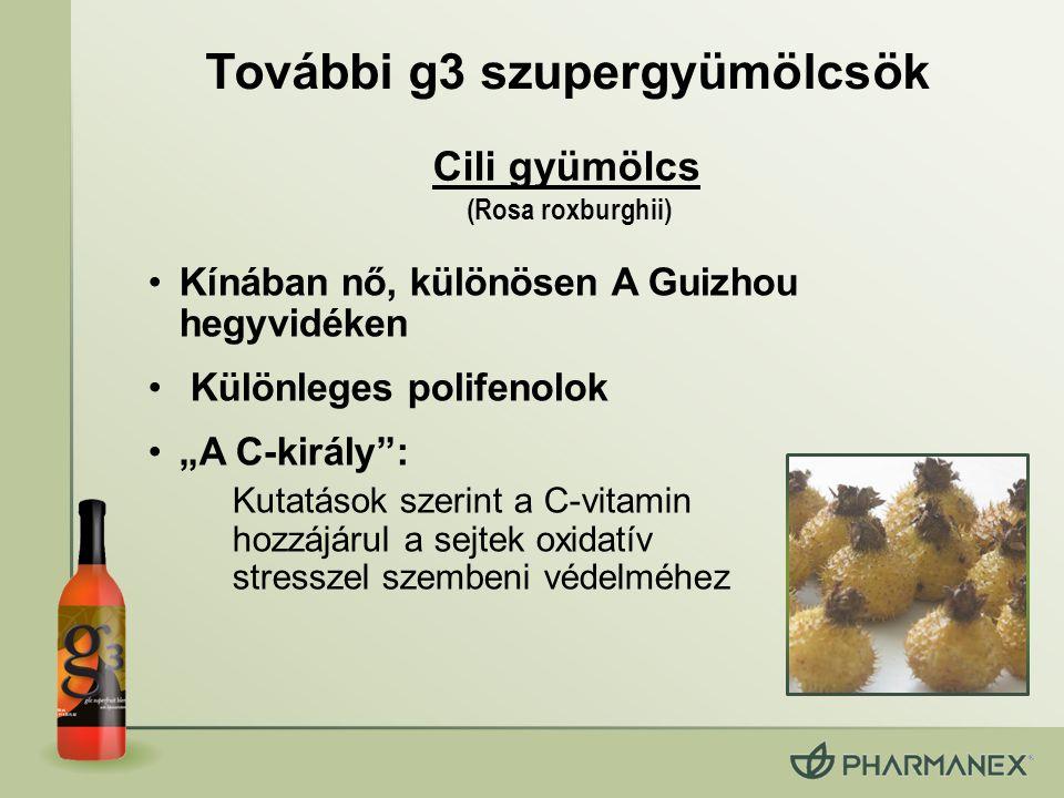 További g3 szupergyümölcsök