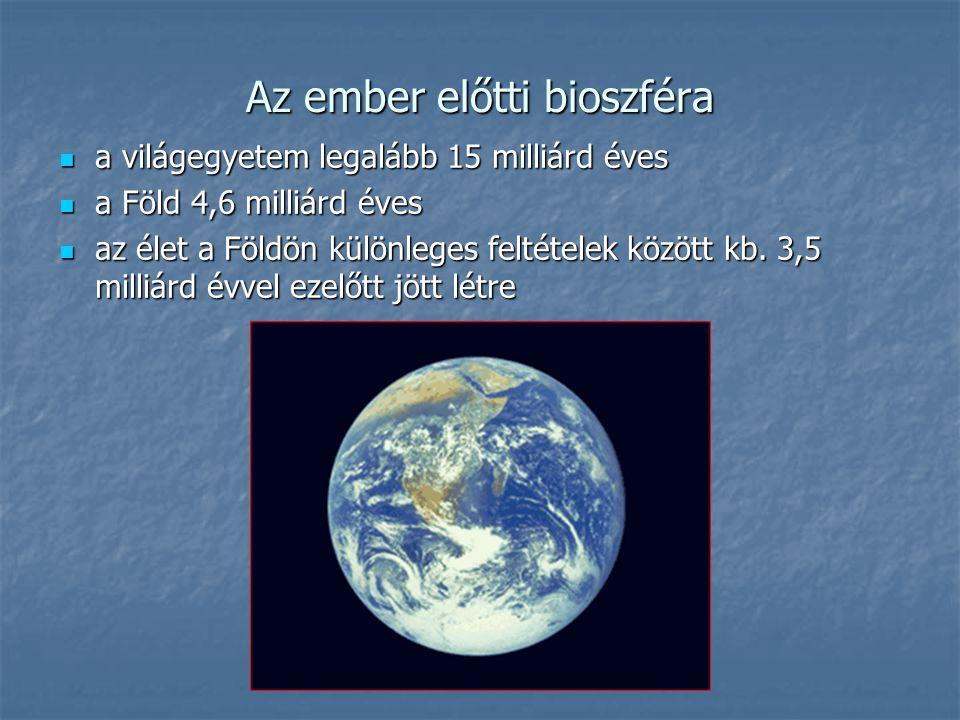 Az ember előtti bioszféra