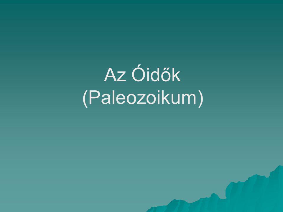 Az Óidők (Paleozoikum)