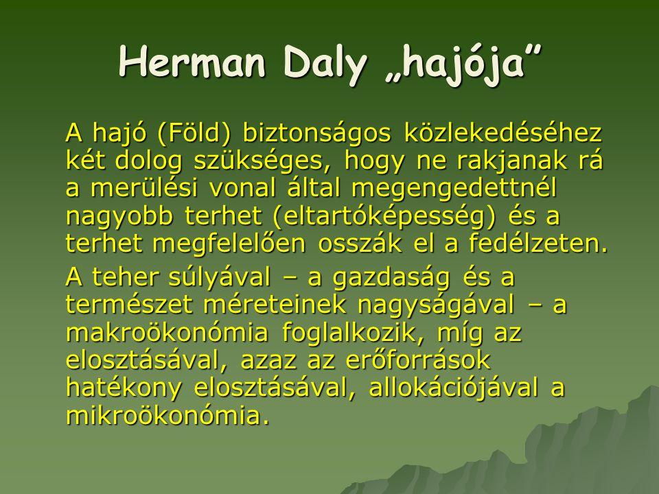 "Herman Daly ""hajója"