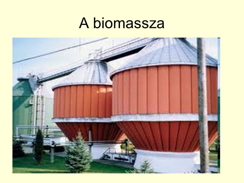 A biomassza A biomassza sokféle természetes eredetű hulladékanyag összefoglaló neve. Szárazföldi és vízi növények anyagából,