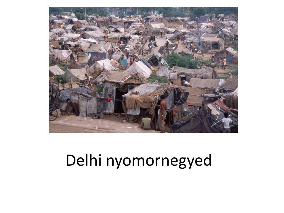 Delhi nyomornegyed