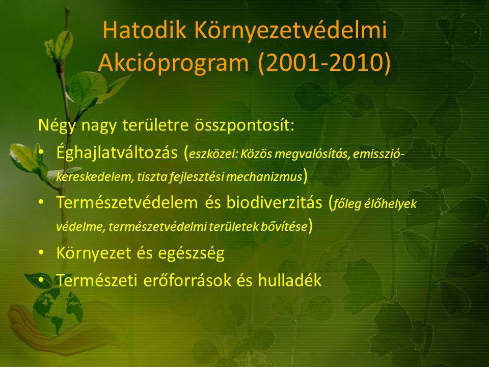 Hatodik Környezetvédelmi Akcióprogram (2001-2010)