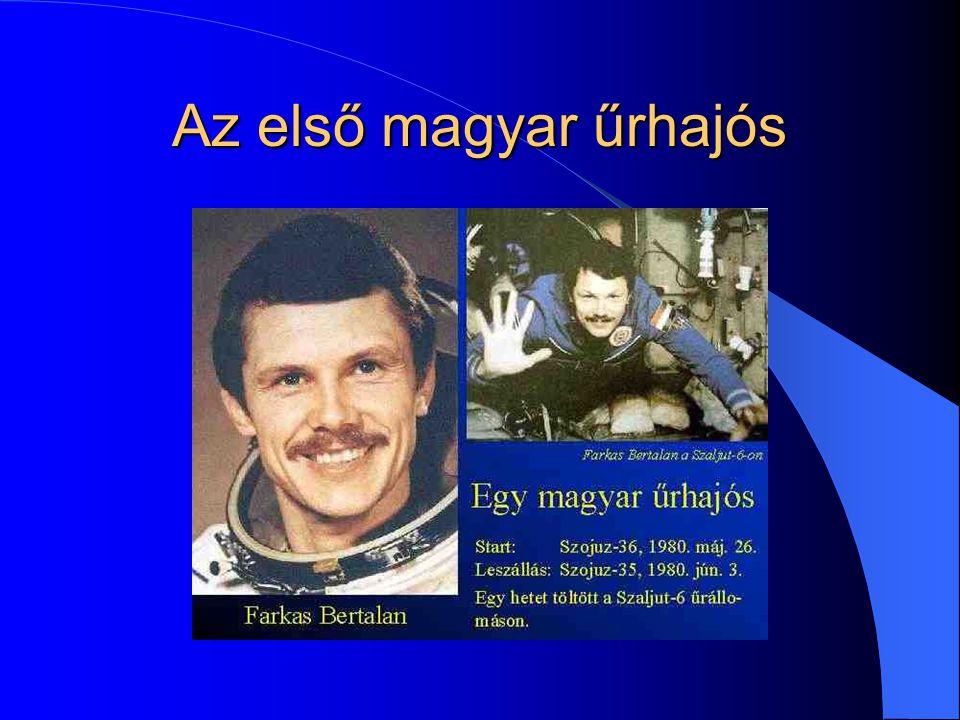 Az első magyar űrhajós