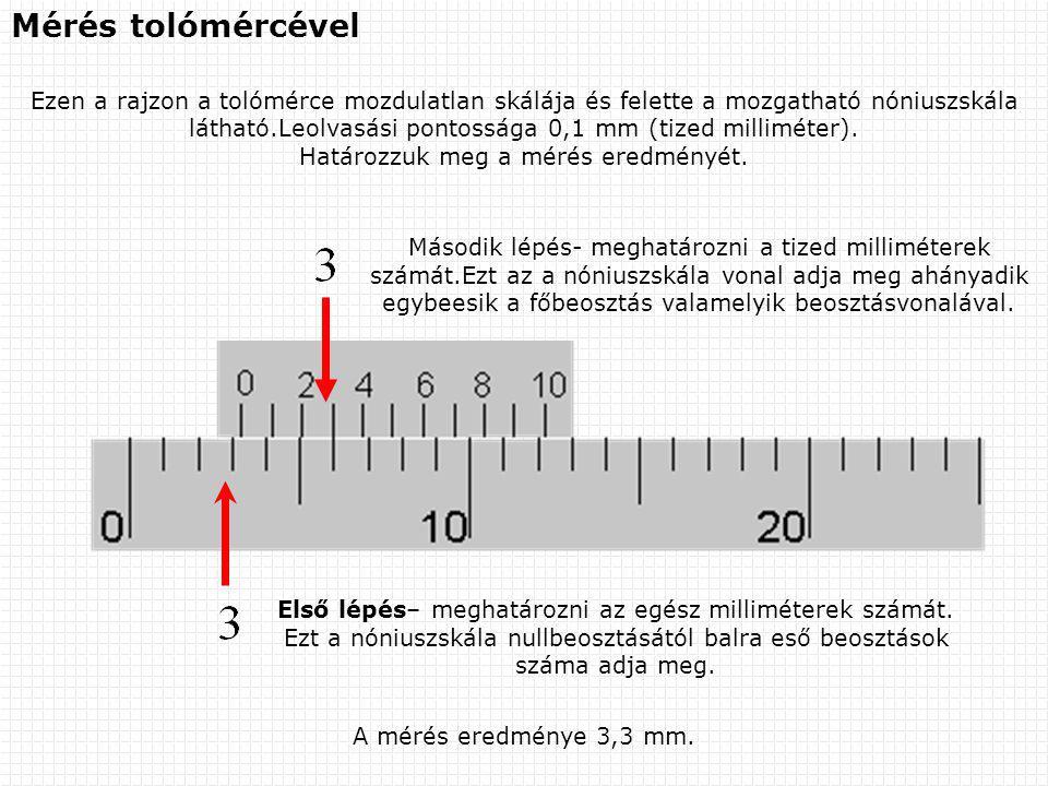 Határozzuk meg a mérés eredményét.