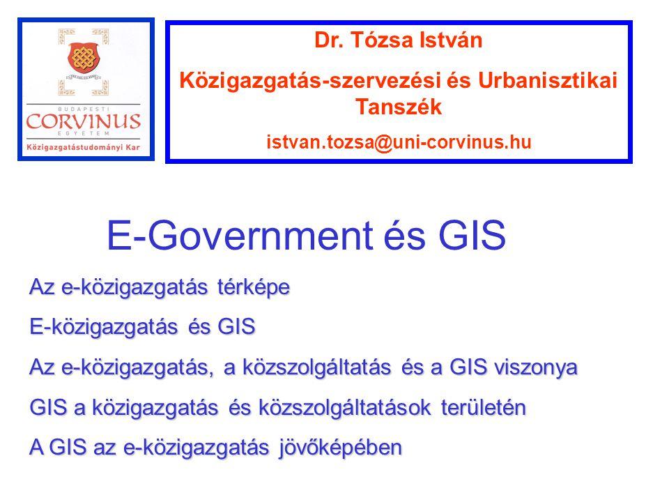Közigazgatás-szervezési és Urbanisztikai Tanszék